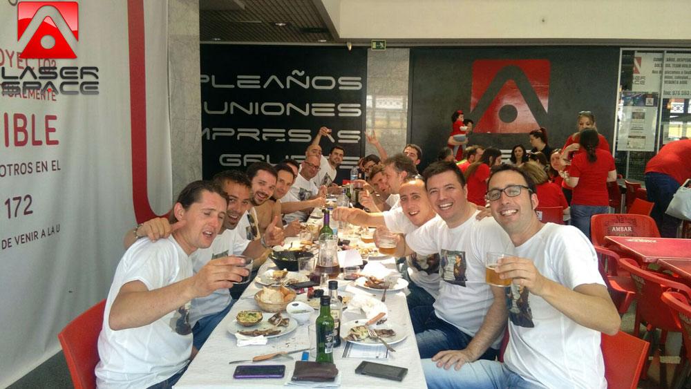Fiesta en Laserspace Zaragoza