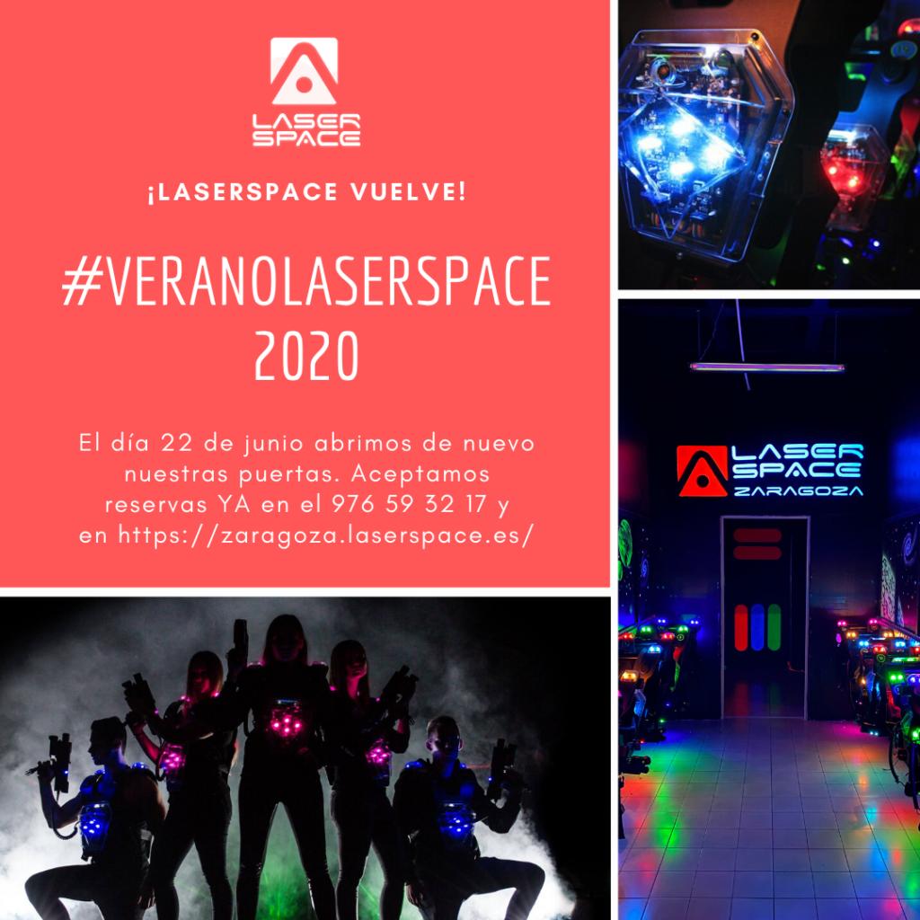 Laser Space reabre sus puertas en Zaragoza